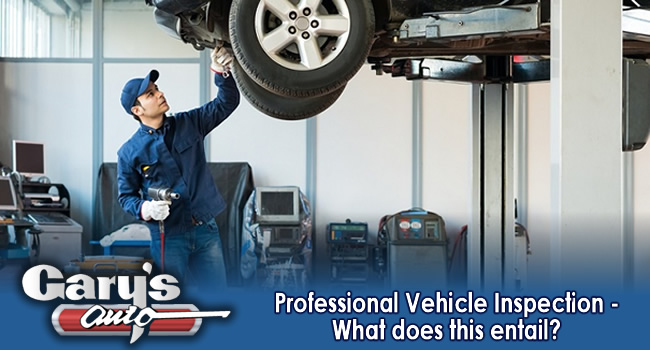 Professional Vehicle Inspection – What does this entail?