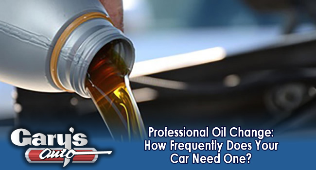 Professional Oil Change
